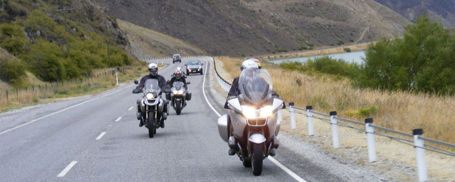 Motorcycles on NZ roads